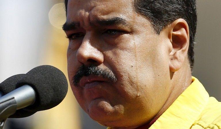 """""""Trágate tus medicinas, tu droga y tu cocaína"""": Maduro a Santos - Foto de Internet"""