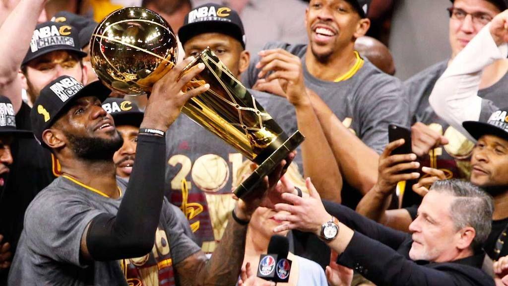 Cavaliers de Cleveland se coronan campeones de la NBA - Foto de internet