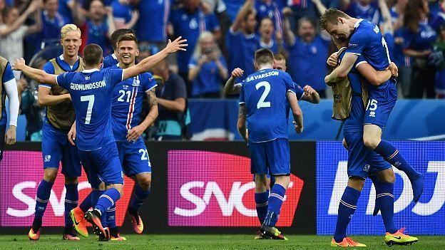 Islandia se encuentra en cuartos de final de la Euro, cuando no se esperaba que pasara la fase de grupos. Foto de internet