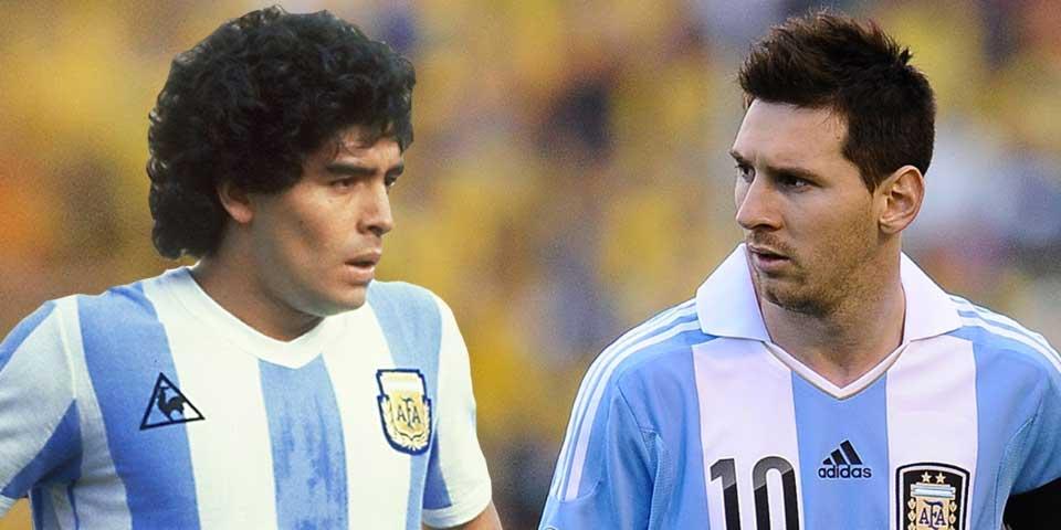 'Messi puede ser más grande que yo': Maradona - Foto de YouTube