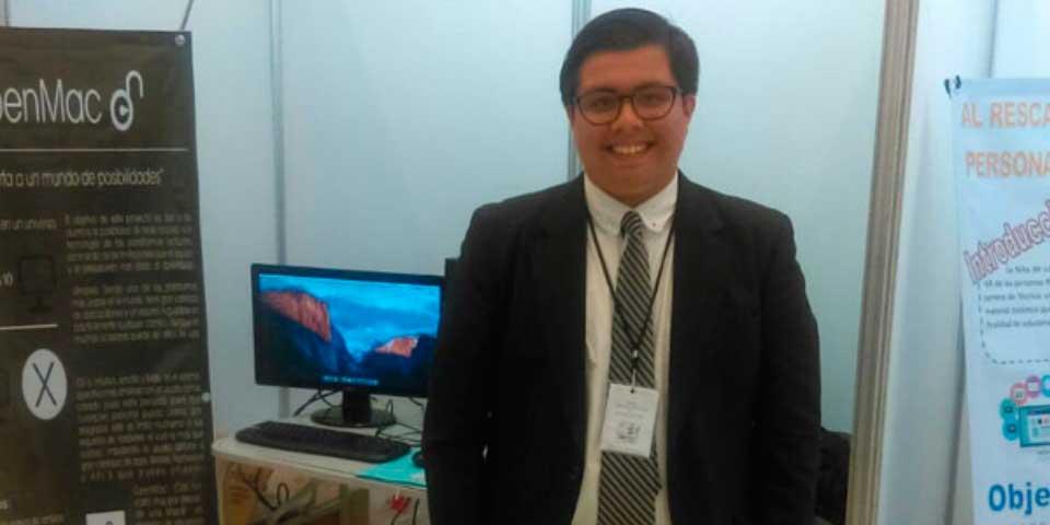Mexicano de 16 años fusiona sistemas operativos de Mac y Windows - Foto de Agencia Informativa Conacyt