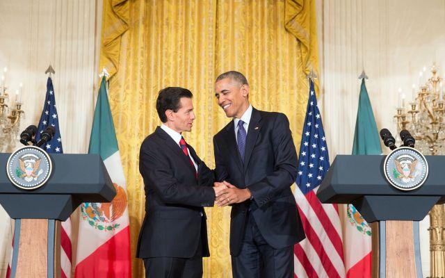 Acuerdan México y EE.UU. grupo bilateral sobre drogas - Foto de Presidencia de la República.