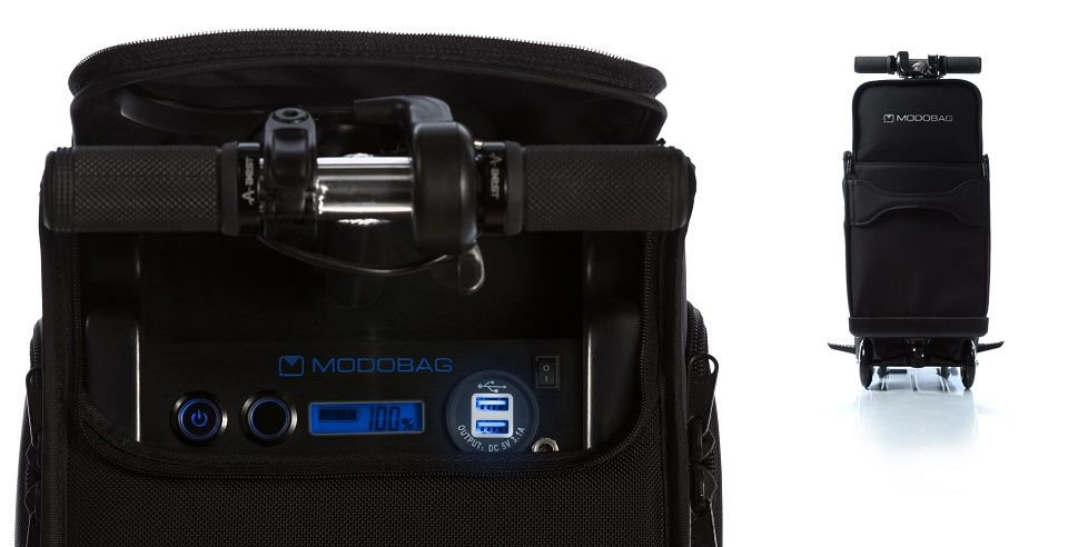 """Crean maleta motorizada para """"correr"""" en el aeropuerto - Foto de Modobag."""