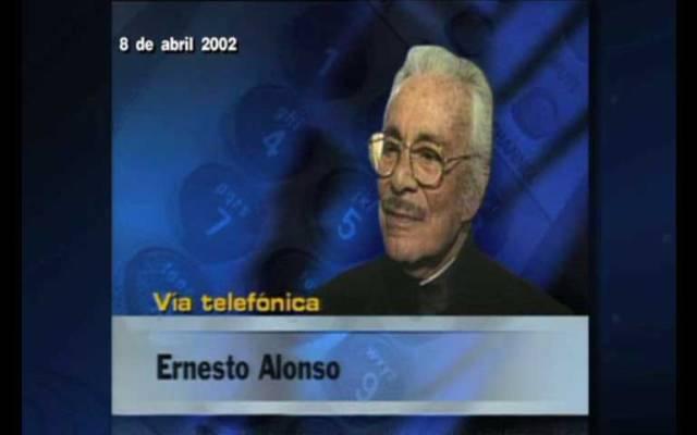 #16añosconJoaquin entrevista a Ernesto Alonso
