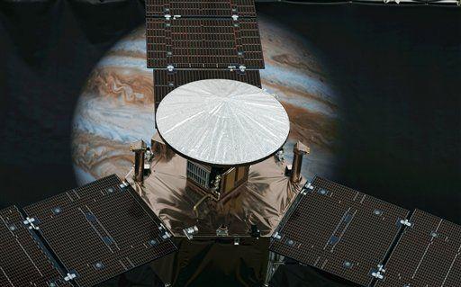 Sonda espacial Juno entra en órbita de Júpiter - Foto de AP