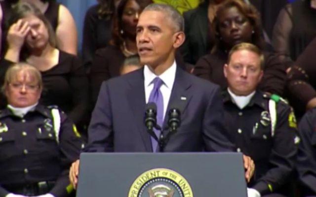 Masacre de policías en Dallas: los once pésames de Obama - Foto de Internet