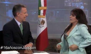 #16añosconJoaquin Entrevista a Verónica Castro