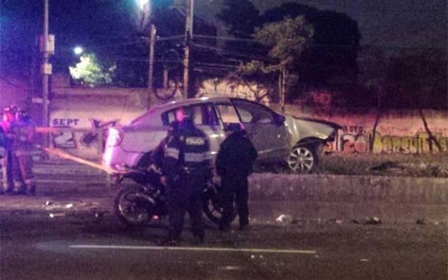 Muere mujer en choque en Francisco del Paso y Troncoso - Foto de Mauricio Hernández