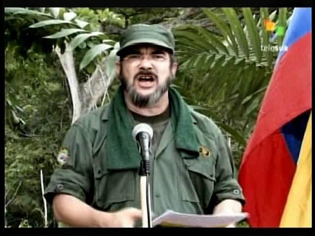 Foto de Timoleón Jiménez hace algunos años, líder de las FARC. Foto de El Nuevo Herald