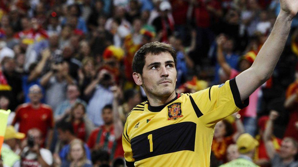Casillas fuera de la convocatoria de la Selección de España