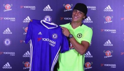 Sorpresivo regreso de David Luiz al Chelsea - Foto de Twitter