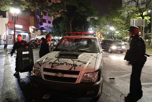 Galería: seguidores de Dilma Rousseff causan destrozos en Brasil - Foto de AP