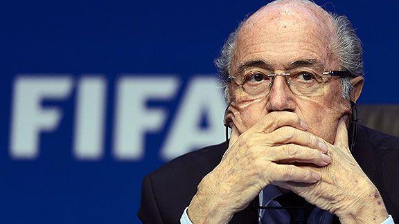 """""""No soy corrupto. Me ha marcado lo que me ha pasado"""": Blatter - Foto de ESPN"""