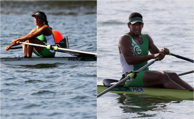 Atletas mexicanos lejos del podio - Foto de Xinhua