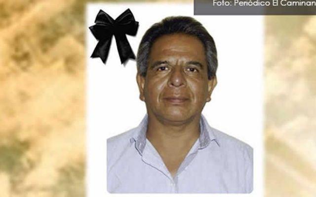 Rencilla con alguien del mismo medio, motivo de asesinato a periodista en Puebla: fiscal - Aurelio Campos. Foto de cronicaviva.