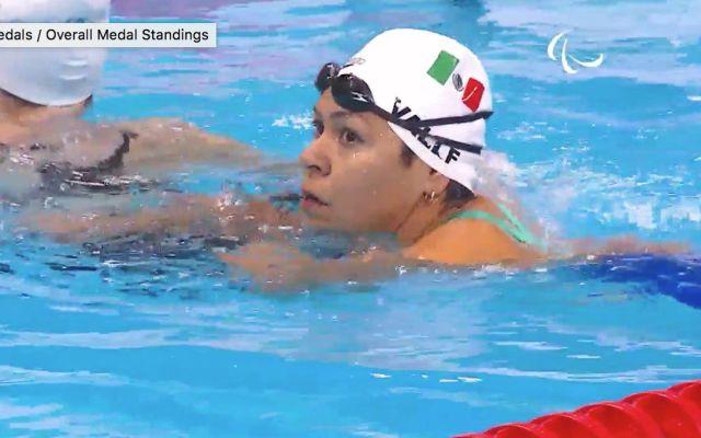 Patricia Valle logra medalla de bronce para México en Juegos Paralímpicos - Foto de Conade