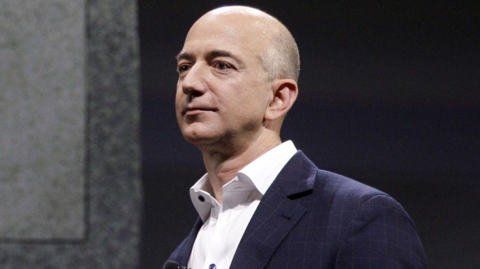 Abogado de Enquirer niega chantaje a Jeff Bezos - Jeff Bezos. Foto de wbur.