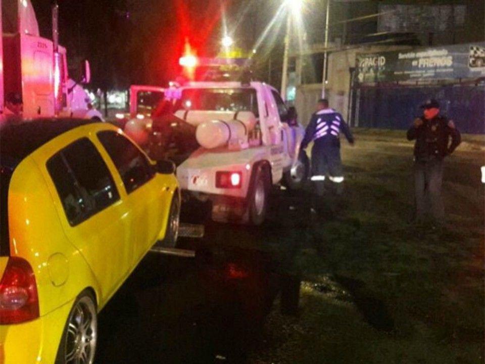 Detienen a 14 personas por arrancones en Coyoacán