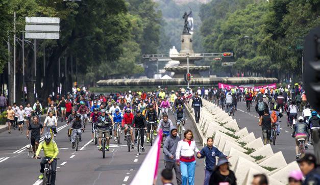 """Modifican ruta de """"Muévete en Bici"""" por marchas del 2 de octubre"""