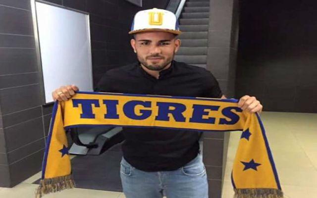 Tigres anuncia contratación de Andy Delort - Foto de  @AndyDelort9