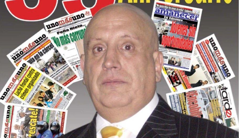 Presidente de UnoMásUno presenta amparo contra aprehensión - Naim Libien, presidente del diario Unomásuno. Foto de Internet