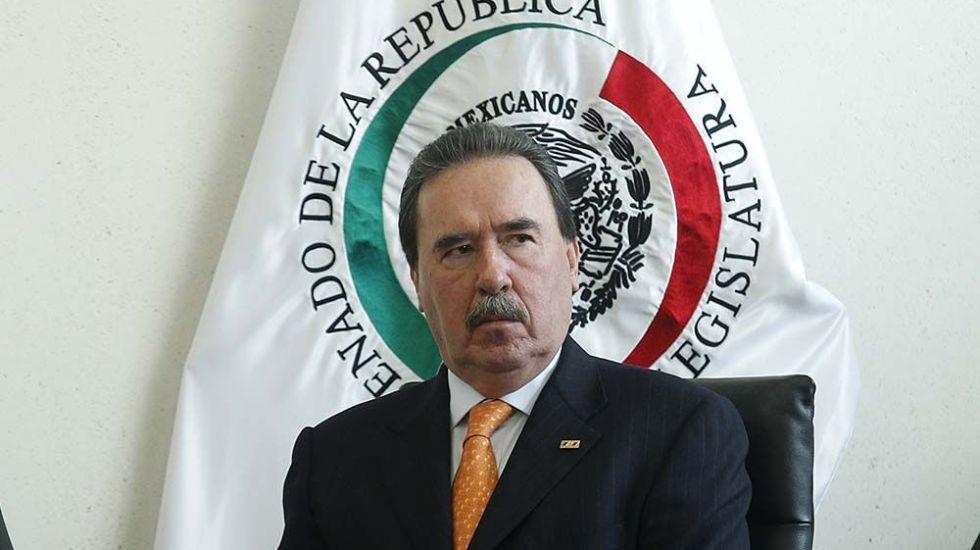 El senador priista Emilio Gamboa Patrón. Foto de Internet