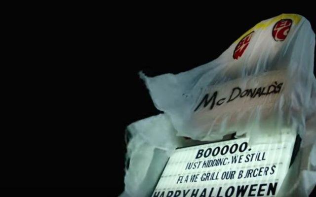 Burger King lanza anuncio con disfraz de McDonald's por Halloween