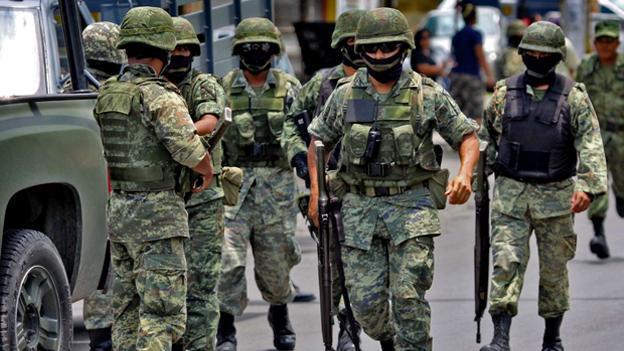 Localizan campo de entrenamiento para narcotraficantes en Tamaulipas - Foto de archivo