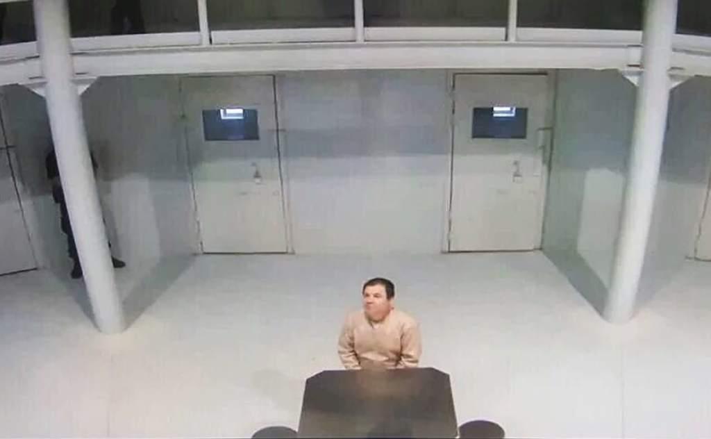 """Revelan el perfil psicológico de """"El Chapo"""" - Joaquín Guzmán en el penal de Ciudad Juárez. Foto de Segob."""