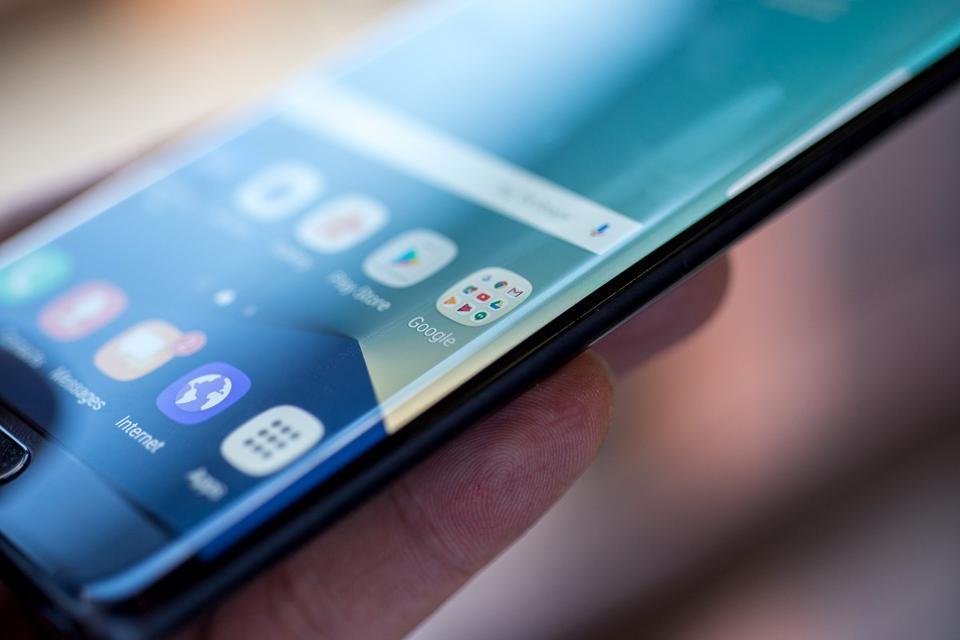 Video: así explota un Galaxy Note 7