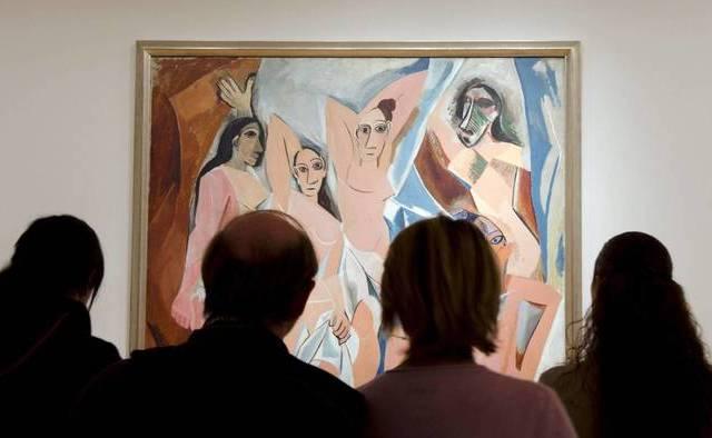 Revelan que el MoMA usa saliva para limpiar obras de Picasso