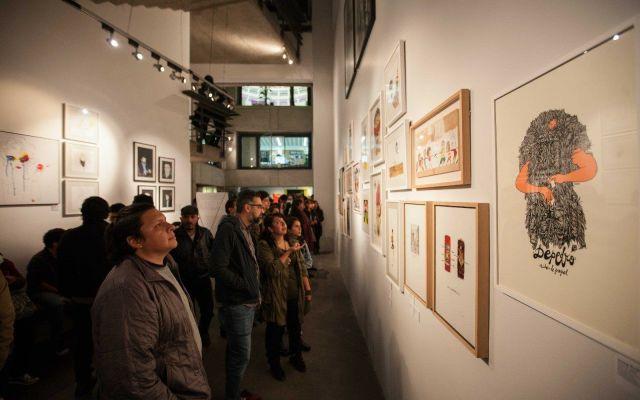 Inauguran exposición de ilustradores españoles en la Ciudad de México
