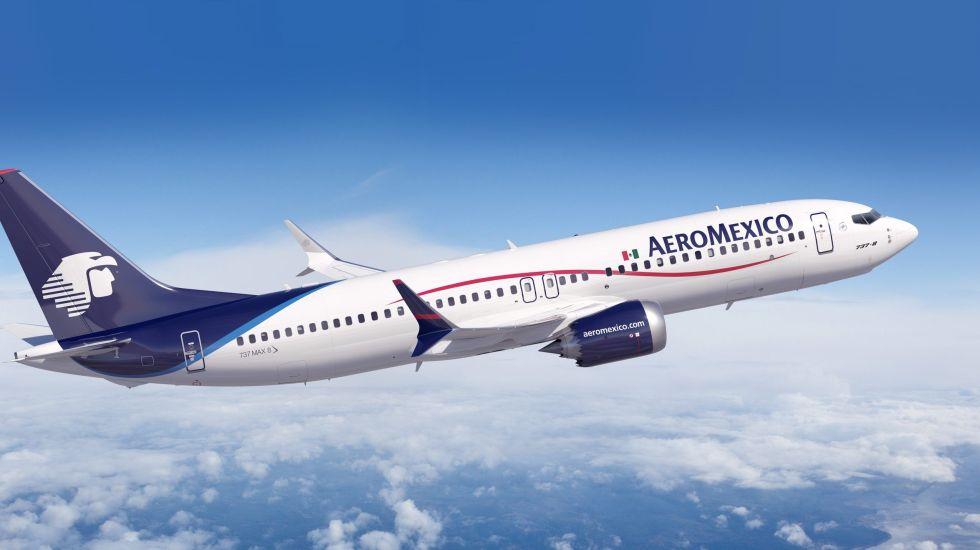 Aeroméxico cancela 24 rutas por retiro de equipos - Foto de archivo