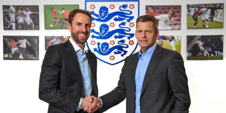 Gareth Southgate nuevo entrenador de Inglaterra - Foto de The FA