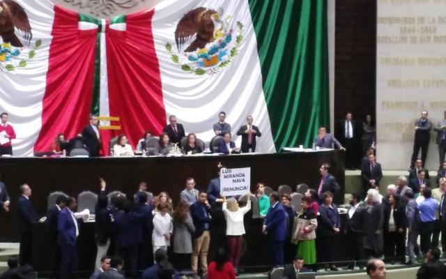 Diputados exigen la destitución de Luis Miranda