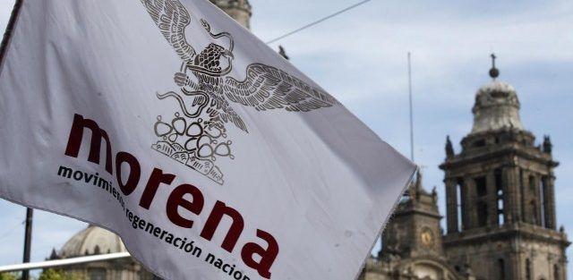 Roban oficinas de Morena en Magdalena Contreras - Foto de Internet