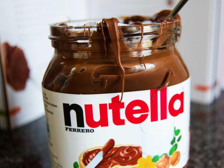 La policía encontró un tráiler repleto de Nutella. Foto de Getty