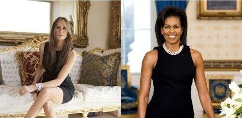 Diseñadora de Michelle Obama se niega a vestir a Melania Trump