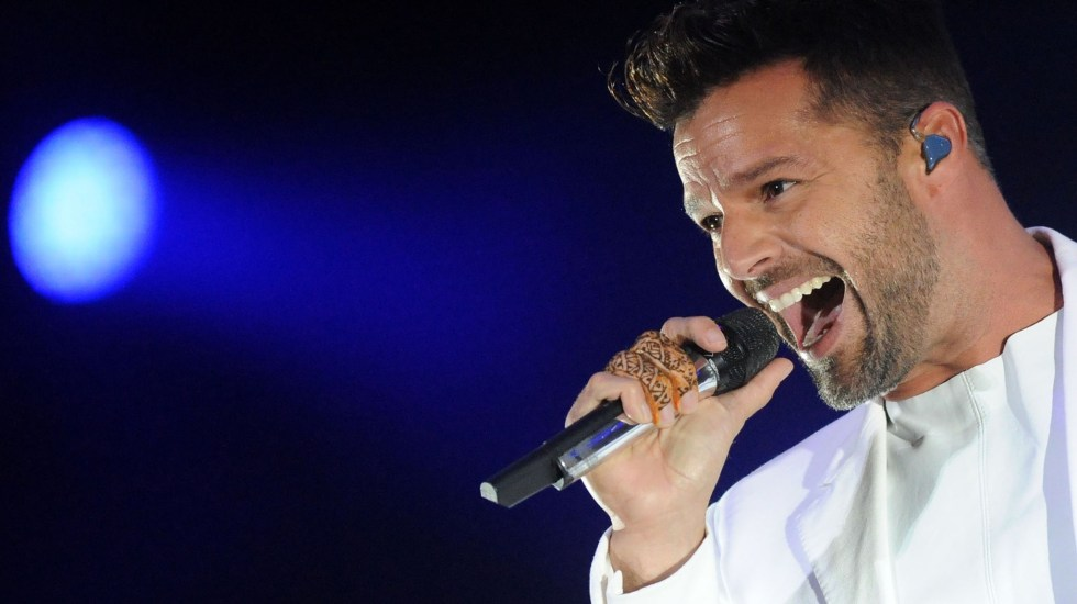 Ricky Martin se presentará en el Zócalo este sábado