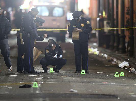 Un muerto y nueve heridos por tiroteo en Nueva Orleans