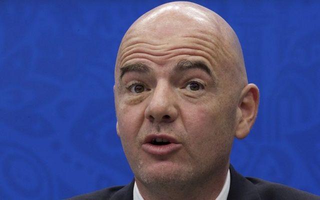 Propone presidente de la FIFA Mundial de 48 selecciones - Infantino. Foto de AP.