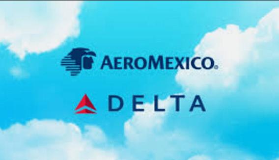 Delta adquiere 32 por ciento de acciones de Aeroméxico