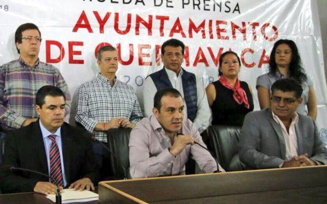 Cuauhtémoc Blanco anuncia salida de Cuernavaca del Mando Único - Foto de @CuauhtemocBco