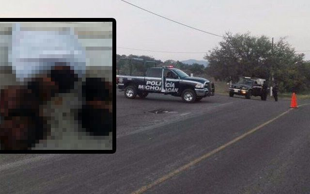 Detienen a cinco por decapitados en Michoacán
