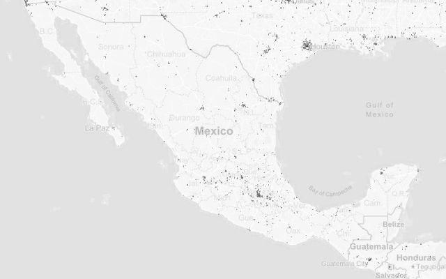 Crean mapa que registra la presencia humana en la Tierra