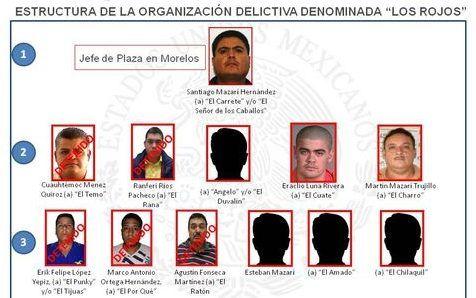 Detienen en la Ciudad de México a primo del líder de Los Rojos