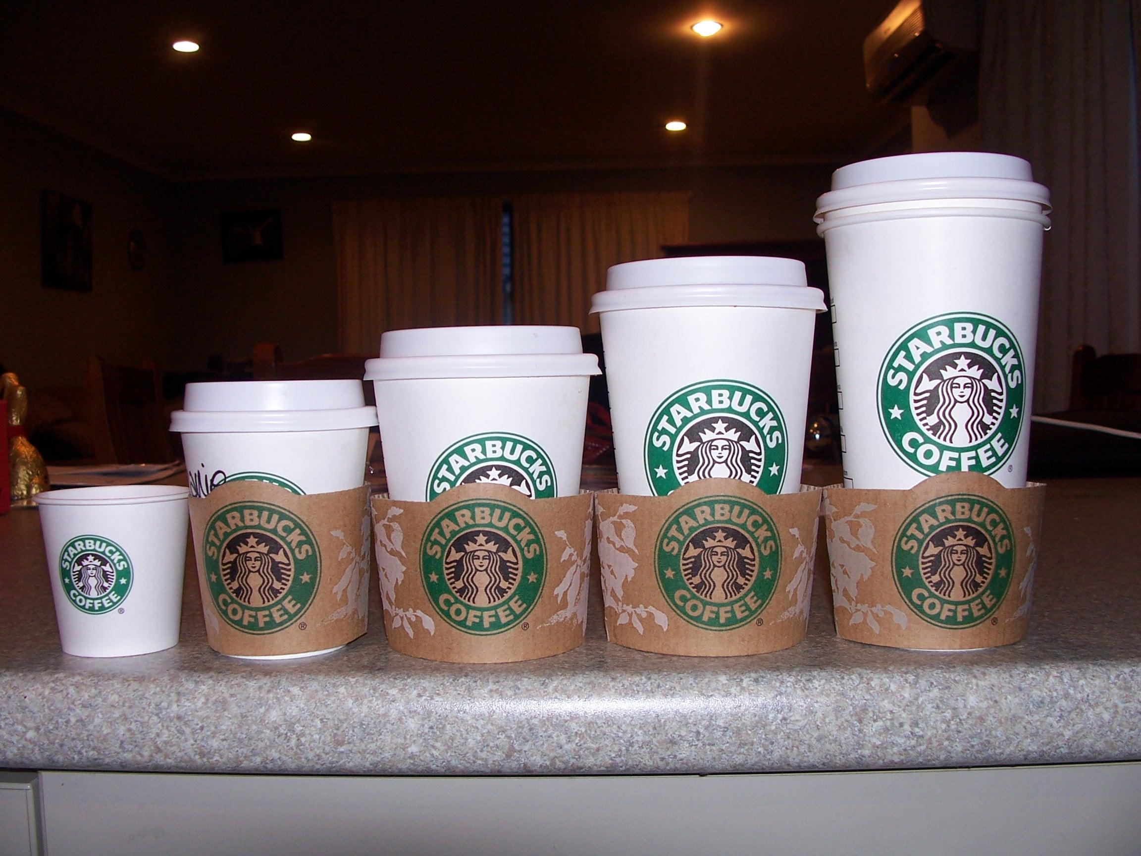191 Por Qu 233 Se Llaman As 237 Los Tama 241 Os Del Caf 233 De Starbucks