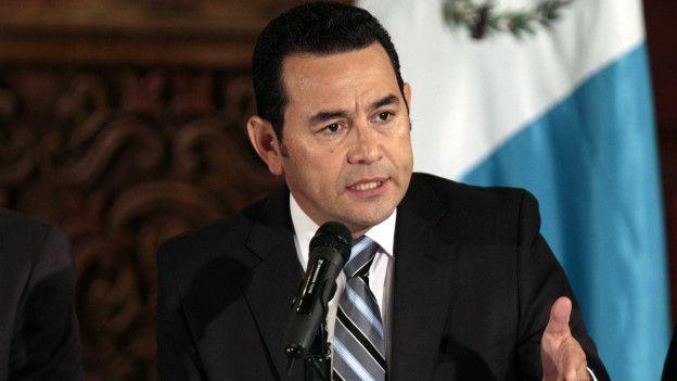 Detienen a hermano de presidente de Guatemala por caso de corrupción - Jimmy Morales. Foto de archivo