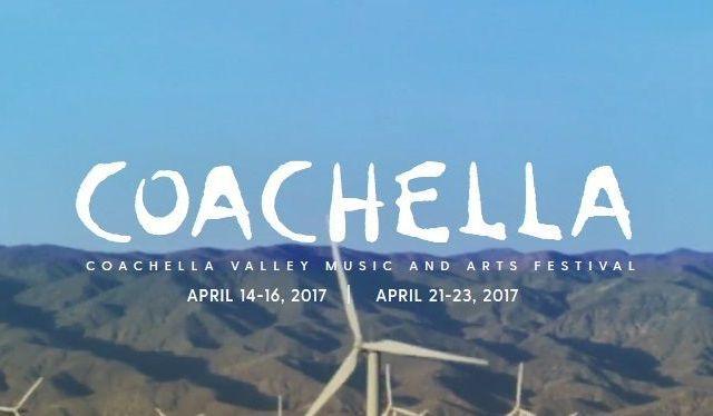 Presentan cartel de Coachella 2017