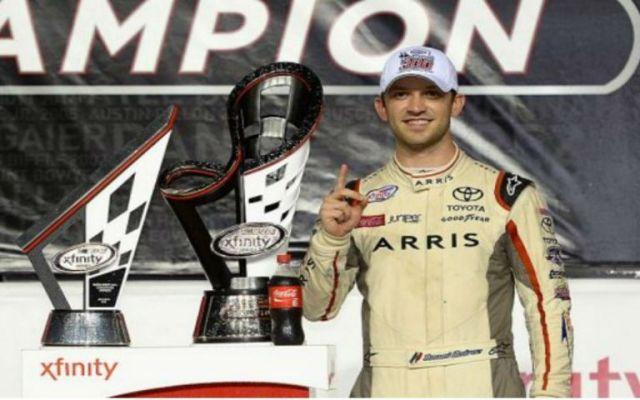 Piloto mexicano Daniel Suárez competirá en principal categoría de NASCAR - Foto de Televisa Deportes